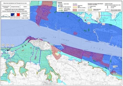 Atlas des inondation de l'estuaire de la Loire