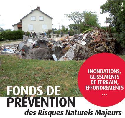 Fonds de prévention des risques naturels majeurs