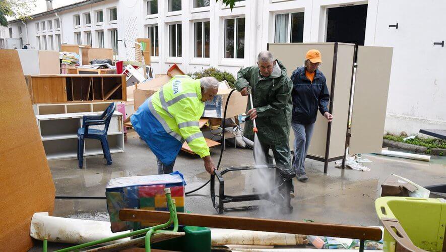 Inondations dans l'Aude : la Région au chevet de l'école de Trèbes et du barrage de Cenne-Monestiès