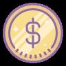 icone du signe dollar