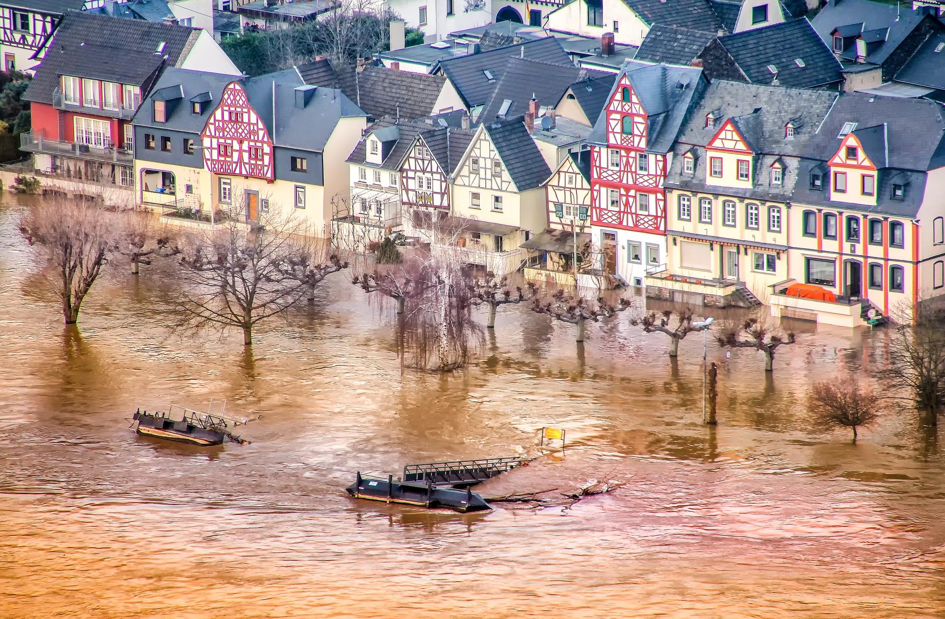 inondation dans le haut rhin